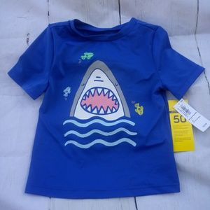 Boys Old Navy Swim Top NWTS Size 2T